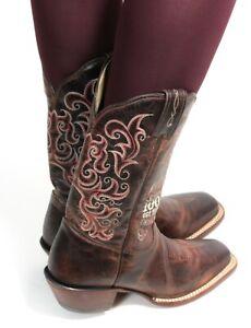 Cowboystiefel Line Dance Catalan Style Westernstiefel Leder Texas Tony Lama 39