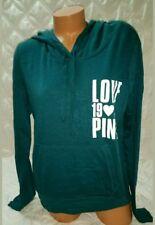 Victorias Secret PINK Light Weight Pullover Hoodie 1986 Love Pink Graphics.SZ-XS