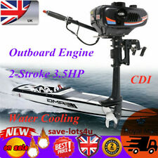 2-Stroke 3.5HP Outboard Engine Boat Motor Electric Fishing CDI Water Cooling
