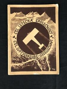 LUFTHANSA AIRLINE CENTRAL EUROPE RARE BROCHURE BOOK, 1929 Fokker F VII Airplane