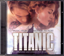 TITANIC James Horner OST CD Celine Dion My Heart Will Go On James Cameron NEU