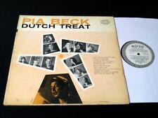 Pia Beck - Dutch Treat - '56 Jazz Vocal Promo LP!