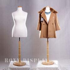 Female Size 18-20 Mannequin Manequin Manikin Dress Form #F18/20W+Bs-R01N
