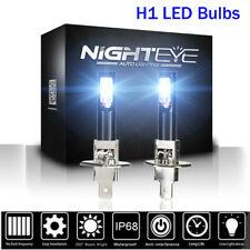 NIGHTEYE Car H1 Auto LED Fog Light Bulbs Driving Lamp 160W 1600LM 6500K White UK