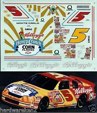 NASCAR DECAL # 5 KELLOGG'S HONEY CRUNCH CORN FLAKES 1996 MONTE CARLO - LABONTE