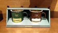 Starbucks Hong Kong 3oz Demi Mug Vintage Hong Kong icon iconic transport set