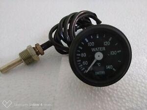 Smiths replica mechanical 52mm Water Temperature Gauge 40 - 140C black bezel