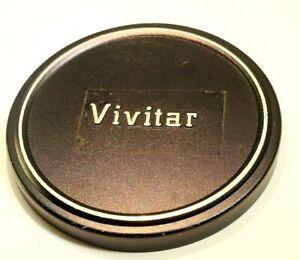 Vivitar 58mm Lens Front Cap for plastic slip on type Metal 28mm f1.9