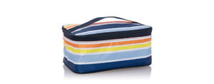 Thirty One Glamour Toiletry Case Vista Stripes Retired NEW