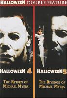 Halloween 4 / Halloween 5 (DVD) • NEW • Donald Pleasence