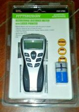 Ultrasonic Distance Meter with Laser Pointer ~ Item #67802