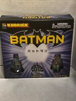 Medicom DC Direct Batman Kubrick Exclusive 5 Figure Collectors Set 2003 Pkg Wear