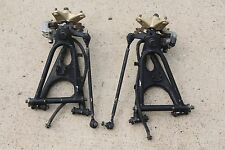 BLACK Yamaha Banshee a-arms brakes hubs spindles 1991-2006 WAVE ROTORS q-25