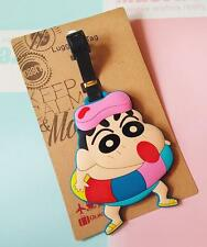 Crayon Shin-chan swimming silica gel luggage tags Baggage Tag hang tags new