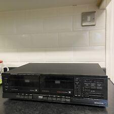 #1456 Kenwood Double Cassette Deck KX-57CW 1988 HiFi Separate