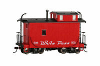 Bachmann On30 Scale Train Caboose Off-Set Cupola Caboose White Pass Yukon 26564