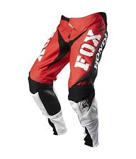 $179 Fox Racing Men's 360 Honda Pants Red/White/Black Size 34