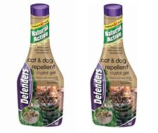 4 Pack Defenders Cat Dog Repellent Gel THAT WORKS !! 650ml STV622 Treats 60sq m