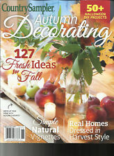 COUNTRY SAMPLER MAGAZINE,  AUTUMN DECORATING    SPECIAL ISSUE,  2017