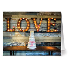 24 Note Cards - Rustic Wedding - Kraft Envs