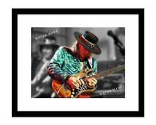 Stevie Ray Vaughan 8x10 Photo Print in concert blues guitar