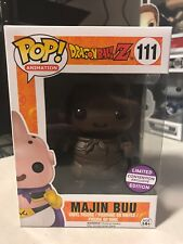 FUNKO POP MAJIN BUU CHOCOLATE DBZ DRAGON BALL Z #111 SAN DIEGO SDCC EXCLUSIVE