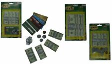 Play Money Sets with Bills, Coins and Accessories (3 Pack)