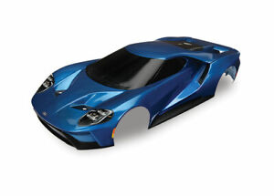 Traxxas TRA8311A Body, Ford GT, Blue (Painted, Decals Applied)