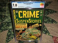 CRIME SUSPENSTORIES #4 CGC 7.0 EC 4-5/1951 OFF-WHITE to WHITE PAGES