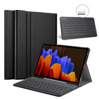 For Samsung Galaxy Tab S7 Plus 12.4'' 2020 Case Stand Cover Detachable Keyboard