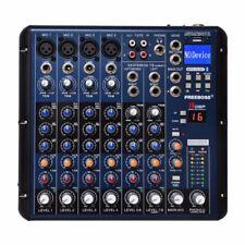 SMR8 Bluetooth Record 8 Channels (4 Mono + 2 Stereo) 16 DSP USB DJ Mixer