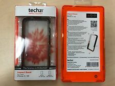NEW OEM Tech21 Silicone Impact Band Case for iPhone 4, 4s Smokey T21-1652