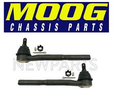 Chevry Tahoe GMC Yukon C1500 Set of 2 Front Inner Steering Tie Rod Ends Moog