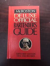 Mr. Boston Deluxe Official Bartender's Guide Book Sixty-First Edition Hard 1981