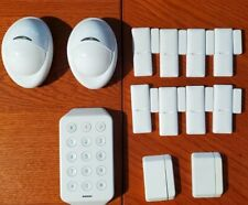 10 Door Window Sensors + keypad + 2 motion sensors battery included-Xfinity Home