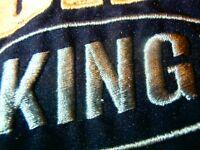 Puma King Size XL Navy FULL ZIP Jacket Coat Vtg Retro 90s Football Soccer NEW !!