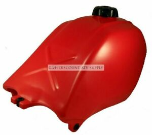 Wide Open Plastic Gas Fuel Tank for the 1985 1986 1987 Honda Atc 250 ES Big Red