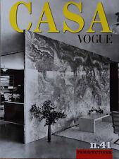 VOGUE CASA Magazine ITALIA ITALY no 41 APRIL 2014  NEW