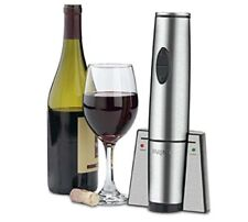Waring Commercial Portable Electric Wine Bottle Opener with Recharging Station