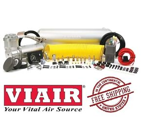 VIAIR 150PSI 1.66CFM Constant Duty Onboard Air System Universal Fit 10007