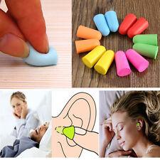 Durable 10 20 50Pair Soft Foam Ear Plugs Tapered Sleep Noise Prevention Earplugs