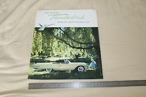 (62) Large Brochure catalogue The 60 FORD Thunderbird world's most wanted car