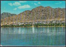 Jordanien Jordan used Post Card Postkarte Aqaba Panorma View [cm530]