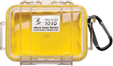 Pelican ™ 1010 clear with Yellow Micro Case with Free engraved nameplate