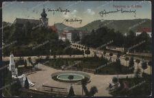 AK-Tetschen-terra Bach-Ústecký kraj-Děčín-Boemia - 1920-Repubblica Ceca