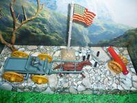 MARX Buckboard Wagon w Orig Horse & Harness FORT APACHE STOCKADE