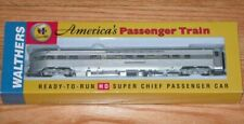 HO Scale Walthers Santa FE Passenger Car Train Super Chief Observation Lounge