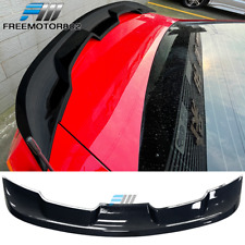 Fits 10 14 Ford Mustang 2020 Gt500 Style Rear Trunk Spoiler Carbon Fiber Print Fits Mustang