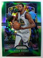 2019-20 Panini Prizm Refractor Green Kevin Durant #210, Golden State Warriors