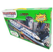 Elektrische Eisenbahn  Kinder Spielzeug Rennbahn Lokomotive Bahn Zug Bahngleise
